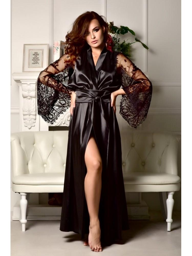 Эротические фото длинные шелковые платья давят