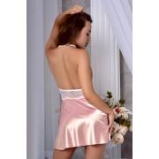 красивый комплект халат с пеньюаром на утро невесты