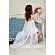красивая шифоновая накидка на фотосессию невесты