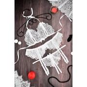 Сексуальный комплект кружевного женского белья 1259