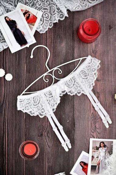 нижнее белье для невест белый пояс для чулок