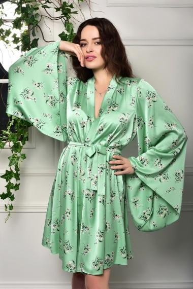 Легкий жіночий халат кімоно короткий...