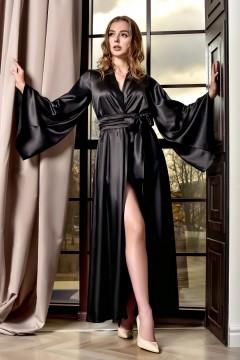 Довгий жіночий халат кімоно...
