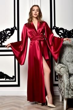 Роскошный атласный халат...