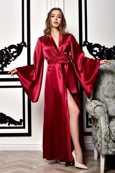 Роскошный атласный халат кимоно...